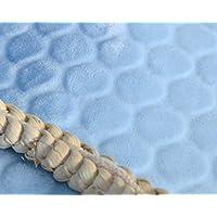Isabella Alicia 蓝色泡泡婴儿床套装,0.4 千克