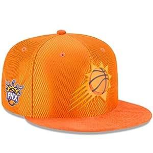 New Era Phoenix Suns 橙色 NBA 船上原装 Fit 9FIFTY 可调帽