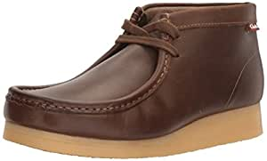 CLARKS Men's Stinson Hi,Beeswax Leather,7 M US