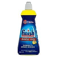 Finish Rinse Aid Shine Plus Dry Lemon, 400 ml