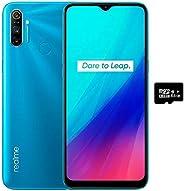 Realme C3(64GB,3GB)6.5英寸 HD+ 显示屏,5000mAh 电池,Helio G70,双卡 GSM 解锁全球 4G LTE(T-Mobile,AT&T,Metro,Straight Talk