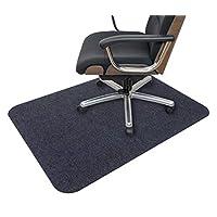 Sanko * 不偏移 椅子 地板垫 只需吸附(日本制造) 深灰色 90×120cm KQ-75