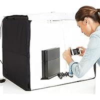 AmazonBasics 亚马逊倍思 便携式摄影箱(黑色)