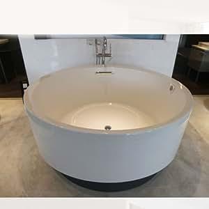科勒 卫浴K-18352T-G-0 艾芙正圆形嵌入式泡泡浴缸