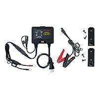 电池MINDer 1215C:12 伏 1.5AMP 可转换多用途板上和长凳电池充电器-维护器-Desulfator 专为汽车、卡车、摩托车、ATV、船舶、房车等设计