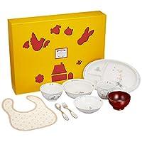 Narumi Bremen 兒童餐具套裝 ブルー 9個セット 7980-33301