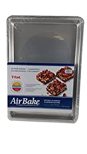 T-fal Airbake 果冻卷深层烘焙盘,39.37 X 26.67 X 3.13 铝 1 - 包 583522-84774