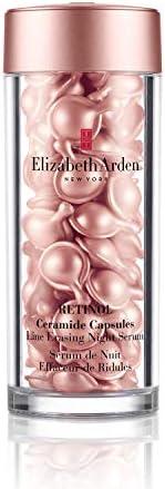 Elizabeth Arden 伊丽莎白雅顿 视黄醇神经酰胺夜间胶囊精华 去眼袋,60粒