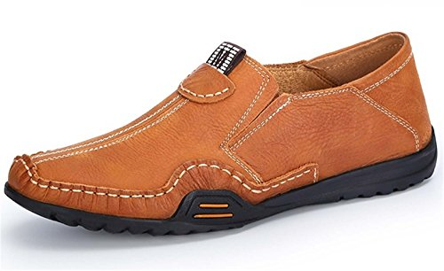 Guciheaven 时尚男士皮鞋 休闲皮鞋 商务休闲皮鞋 驾车鞋 男士休闲鞋 低帮皮鞋 户外休闲鞋 懒人套脚男鞋11PZ6804