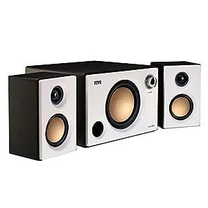 HiVi 惠威 M10 2.1声道多媒体有源音箱 桌面音箱 白色