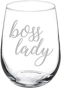 *杯 Boss Lady 玻璃 17 oz Stemless unknown