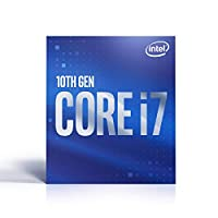 Intel 英特尔 *七代Intel Core i7-10700 台式机处理器 8核高达4.8 GHz LGA 1200 (Intel 400系列芯片组) 65W
