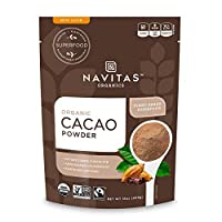 Navitas Organics 可可粉, 约454克2袋装 - 、符合公平贸易、不含麸质