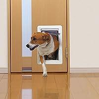 *(Uniflow)宠物用品 宠物~原创 小型 白色 宠物*门