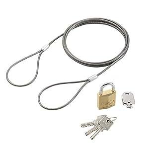 狮子办公器 电脑防拿锁 ディンプル南京錠3