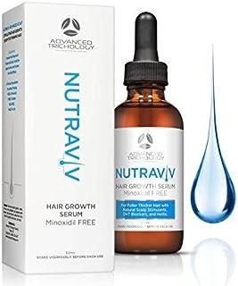 NutraViv 增发精华 - **护理,适合浓密的男士和女士,包括** - *效果 - *加厚产品 4-6 周供应量
