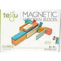 Tegu 磁性積木套裝 24片 夕陽紅