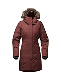 The North Face Women's Arctic Down Parka -RTO Deep Garnet Red Heather