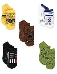 Star Wars 男童袜子 6 双装(幼儿/小童/大童/青少年/成人)