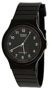 Casio MQ24-1B 模拟手表 黑色 1 码