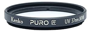 Kenko Puro 广角细环多涂层紫外线滤镜,透明223758 37MM 透明