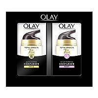 Olay 玉蘭油 多效修護系列 抗衰老舒潤霜 日晚霜 含煙酰胺、維他命C、維他命E 37ml 兩瓶裝