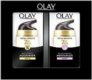 Olay 玉兰油 多效修护系列 抗衰老舒润霜 日晚霜 含烟酰胺、维他命C、维他命E 37ml 两瓶装