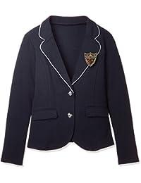 毕业典礼·入学典礼! 带徽章 针织衫夹克·皮套(学校·制服) TB-1234 女式