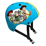 Stamp Woody-Buzz L'Lumire-Jessie 玩具总动员 4 滑板头盔 C867102,蓝色,*,54-60 厘米