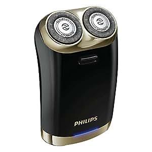 Philips 飞利浦 电动剃须刀 二刀头 礼盒装便携式 HS199 黑色