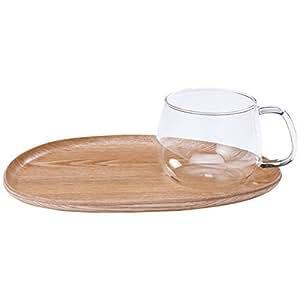 KINTO 咖啡杯餐盘 木制品 FIKA咖啡 玻璃杯 22588