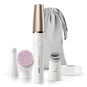 BRAUN facespa PRO 912脱毛器3合1洁面 epilating 和 skin 强身系统带3extras 白色 / 青铜