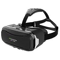 千幻 VR Shinecon 3D VR 眼镜 3D虚拟现实眼镜 头戴式魔镜 立体游戏头盔 360度全景现场 一键调节瞳距 虚拟现实VR眼镜头盔 高清镜片 宽广视野 IMAX 3D电影 吸附面板 散热 沉浸式游戏 免费APP海量片源