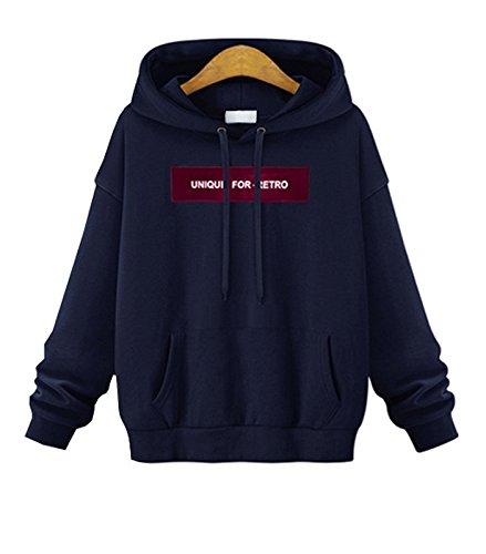 Fabelais 2017秋レディース新ヨーロッパおよびアメリカのファッションTurtシャツフード付きの襟の女性のセーター緩い大きいサイズの長袖シャツの潮7082刺繍