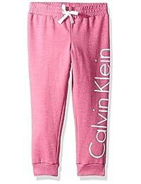 Calvin Klein 女童标志运动裤