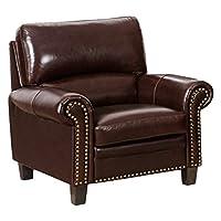 芝华仕 头等舱 真皮沙发 美式沙发 小户型客厅沙发 单人位 5259(标价仅为商品价格,如需运送/安装,请咨询客服具体费用。咨询电话:400-688-9099 QQ:648538692/3478725759)(亚马逊自营商品, 由供应商配送)