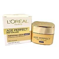 L'Oreal Paris L 码 PARIS AGE re-perfect pro-calcium 密集修复晚霜 SPF 15?- 非常成熟 skin