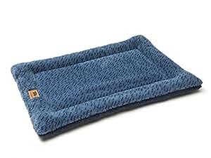 "West Paw Design Montana Nap with IntelliLoft 纤维和填充耐用轻质垫,适合狗狗和猫咪,美国制造 Stripe XL-42""X27"""
