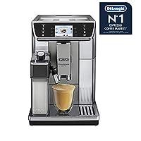 DeLonghi Primadonna Elite ECAM 650.55.MS Espresso machine 2L 黑色,不锈钢 - 咖啡机(独立,浓缩咖啡机,2 升,集成研磨机,1450 瓦,黑色,不锈钢)