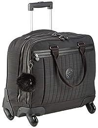 Kipling 凯浦林 NETSIA 手提行李箱,44厘米,20升,黑色(真正的亮黑色)