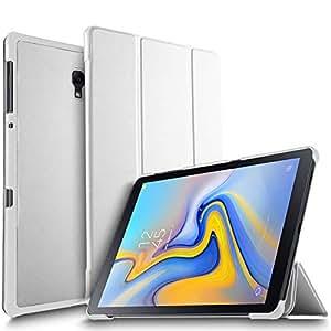 IVSO 三星 Galaxy Tab A 10.5 平板电脑保护套,超轻保护超薄智能保护套三星 Galaxy Tab A 10.5 2018 Release SM-T590 (Wi-Fi) & SM-T595 (LTE) 平板电脑