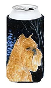 Starry Night Brussels Griffon Michelob Ultra Koozies for slim cans SS8362MUK 多色 Tall Boy