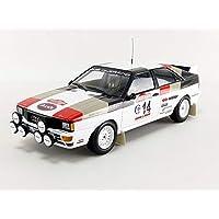 Minichamps 155811114 1:18 Audi Quattro - Mouton/Pons - Winners Rallye Sanremo 1981,多种颜色