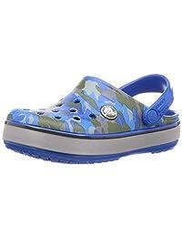 Crocs 卡骆驰 凉鞋 Crocband™ 迷彩反光带洞洞鞋儿童