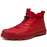 Wilindun(美国) 新款时尚休闲百搭中帮超纤街拍马丁靴
