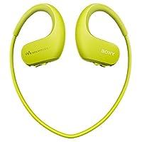 Sony 索尼 NW-WS413/GM CN 可穿戴式运动防水音乐播放器 柠檬绿 4G