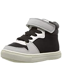Carter's 男童 Spy2-b 黑色高帮运动鞋