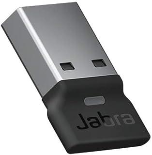 Jabra 捷波朗 Link 380c MS USB A 蓝牙适配器 – 无线转换器适用于 Evolve2 85 和 65 耳机