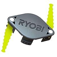 Ryobi ACFHRL2 聚碳酸酯刀片修剪器头兼容Ryobi 18 伏、24 伏和 40 伏去角器(2 只装)