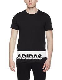 adidas 阿迪达斯 男式 运动型格 短袖T恤 GFX T LNG PUFF